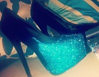 DIY Crystallised Heels