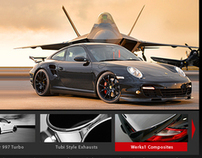 Luxury Automotive Accessories Web Site Design