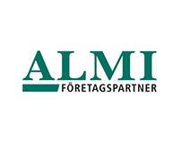 ALMI - Grafisk identitet, logotyp