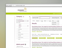Marketscape / Novozymes – Business Information Search