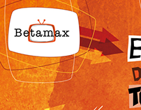 Betamax - cd cover / portada disco