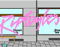 RIPTOYLES x STREETLAB