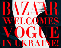 Harper's Bazaar welcomes Vogue