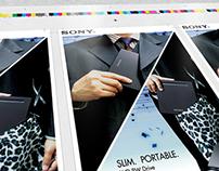 SONY Slim Portable DVD Writer Brochure