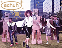 Schuh Autumn/Winter 2013 Photoshoot Sets
