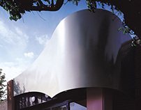 Curved Steel Canopy