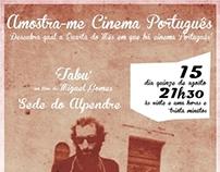 'Amostra-me Cinema Português'