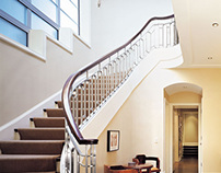 Stainless Steel Spiral Railing