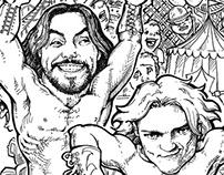 WWE Kids! Hidden Object Illustrations