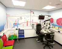 CEE Optometry Building Paediatric Room Mural