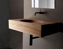 drevené umývadlo KORYTO/the wooden basin KORYTO