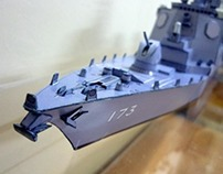 Paper Model of 'Kongo - Japanese Battle Ship'