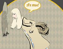 Комикс про стилиста