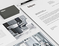 Vetica | Falper Logo & identity