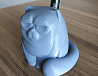 Grumpy Cat / Pen holder