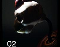 """【月球共和国 MOONS REPUBLIC】02幸运公鸡""""8"""""""