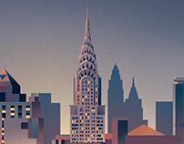 Fujitsu New York to Nevis Poster