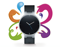 "KV ""watch"" de Alcatel"