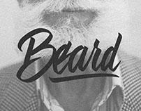 BEARD - Hand Lettering