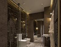 Bathroom in big flat 180m2