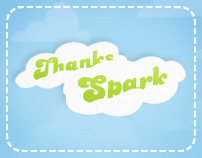 Thanks Spark Campaign Microsite 2010