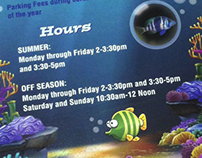 Jenkinson's Aquarium Rack Card