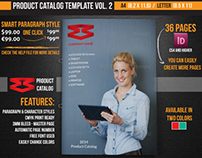 Product Catalog Template Vol. 2