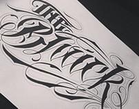 Handmade lettering 2.
