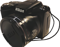 Nikon Digital Camera - Gradient Mesh