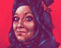 Portrait (digital painting)