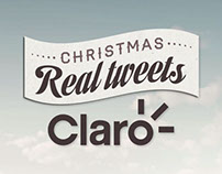 Christmas Real Tweets / Claro