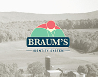 Braum's Ice Cream and Dairy Stores Re-Brand