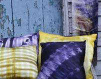 Meditation in Silk: Pillows