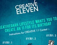 Creative 11 campaign - Digital