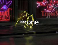 BBC ONE NEON ID CAMPAIGN