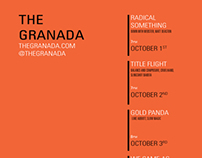 The Granada: Graphic's Internship