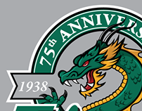 75th Anniversary T-Shirt Design