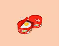 Non-staling egg