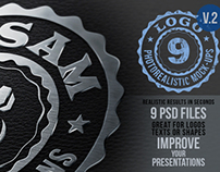 Photorealistic Logo Mock-Ups Vol.2