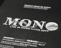 MONO LIVE IN HONG KONG 2011 PROMOTION