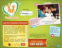 Kalbe Family Hour Microsite