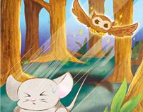 Owl Hunting Mice