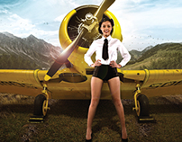 RAFBF Pin-Up Calendar 2014