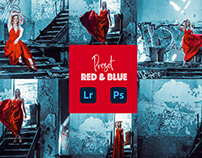 red and blue preset