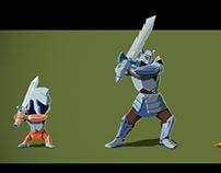 Warriors character design