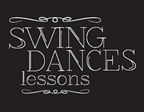 Swing Dance Lessons Flyer