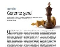 Novo design Linux Magazine 105