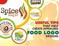 Useful Tips That Help Create Appealing Food Logo Design