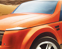Range Rover - concept design
