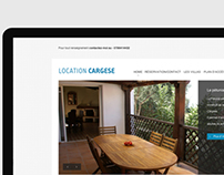 "Website ""Location Cargese"""